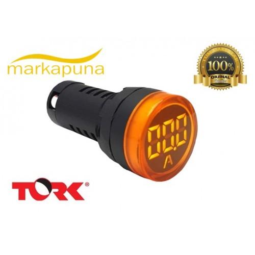 TORK Ampermetre Ø22mm (BEYAZ)