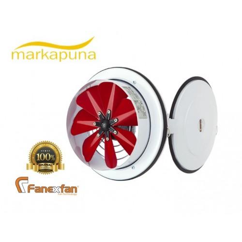 Fanexfan PKA 160 KA Kapaklı ve Flanşlı Aksiyel Aspiratör