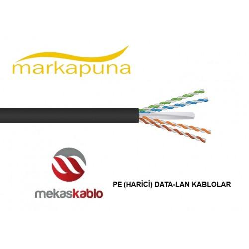 Mekas CAT 6 23 PE DATA-LAN Kabloları 500 mt