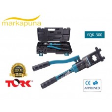 Tork ZUPPER YQK-300 16-300mm2 Hidrolik Pabuç Sıkma Pensesi
