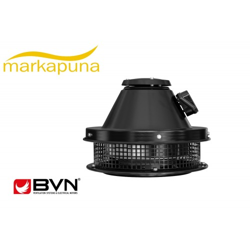 BVN Bahçıvan BRCF-M 315 Yatay Atışlı 1800 m³/h Radyal Çatı Fanı